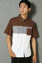 S/Sオックスバイカラーシャツ
