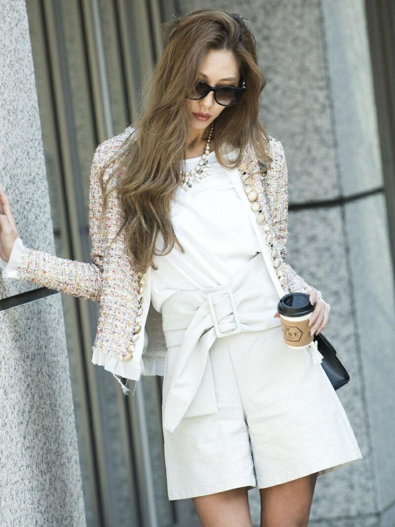 【SALE/30%OFF】Million Carats ツイードジャケット[DRESS/ドレス] ミリオンカラッツ コート/ジャケット【RBA_S】【RBA_E】【送料無料】