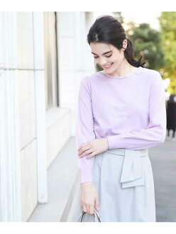 OFUON bijou knit pullover off on knit knit and others purple navy white