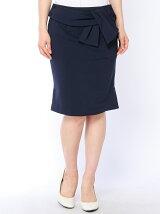 ストレッチリボン付きスカート