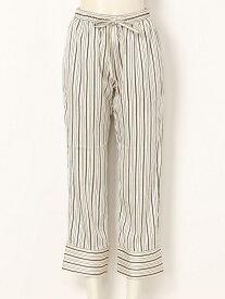 【SALE/57%OFF】TODAYFUL Satin Stripe PT トゥデイフル パンツ/ジーンズ フルレングス ホワイト ブルー イエロー【送料無料】