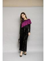アシメフリルトップス[DRESS/ドレス]
