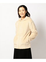SHAGGY KNIT ZIP HOODY
