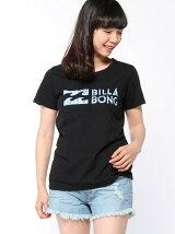 (W)ロゴデザインTシャツ