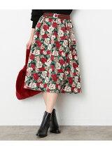 【sweet×ViS】フラワープリントスカート