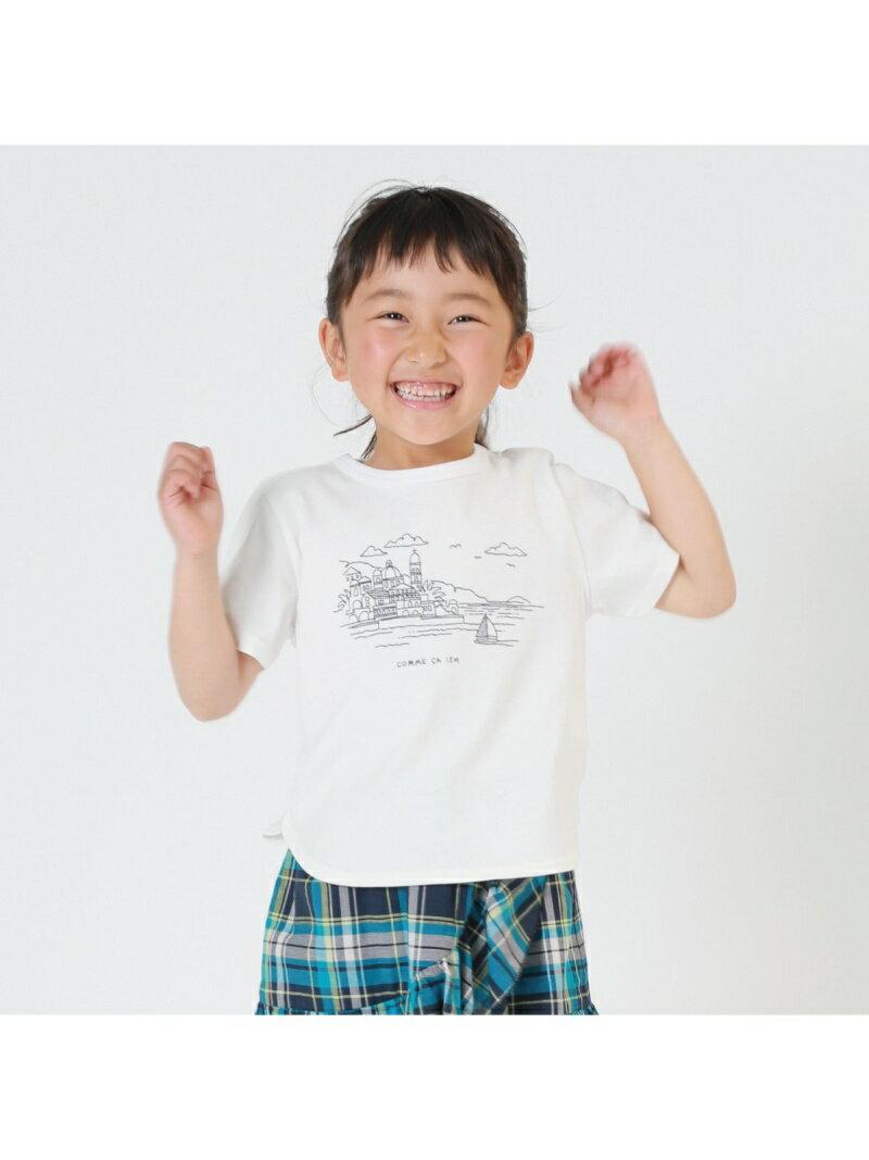 COMME CA ISM 【キッズ・ベビーおそろいアイテム】プリントTシャツ コムサイズム カットソー