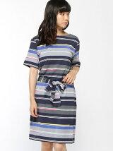 (W)ボートネックドレス