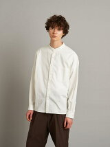 <Steven Alan> 60/SATIN BAND COLLAR BOX SHIRT-BOLD/シャツ