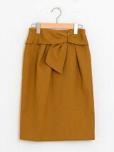 カルゼリボンタイトスカート