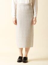 【秋の新作】ニットタイトスカート【CLUEL10月号掲載】