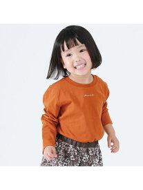 COMME CA ISM ベーシック長袖Tシャツ コムサイズム カットソー Tシャツ ブラウン ホワイト ネイビー グリーン