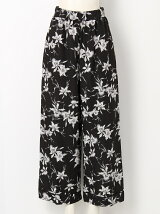 cattleya rayon printgather pants