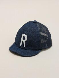 【SALE/20%OFF】petit main ロゴメッシュCAP ナルミヤオンライン 帽子/ヘア小物 キャップ ネイビー ブルー