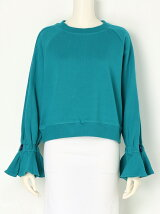 FLARE SLEEVE PULLOVER