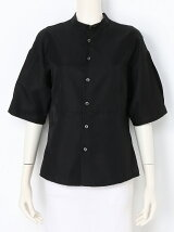 silk cotton gabatuxedo shirt
