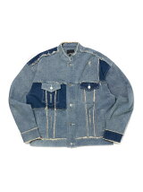 J.S.B./(M)Two Tone Denim Jacket
