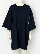 cotton jerseybig T-dress
