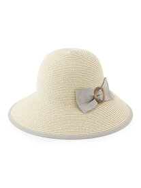 【SALE/50%OFF】ROPE' PICNIC PASSAGE バックルリボン折りたたみハット ロペピクニック 帽子/ヘア小物【RBA_S】【RBA_E】
