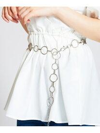 【SALE/53%OFF】JUNIOR SWEET JUNIOR SWEET/(L)リングチェーンベルト ウィゴー ファッショングッズ ベルト シルバー