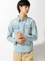 (M)AZ by junhashimoto/ Denim shirt