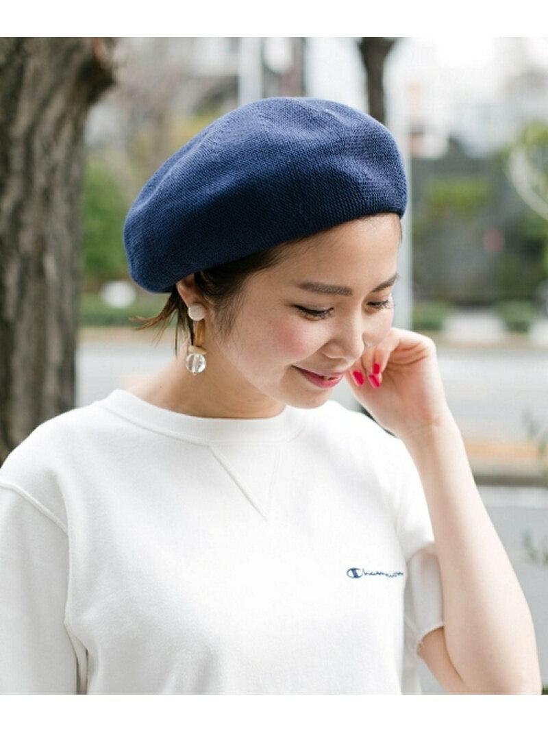 Sonny Label コットンベレー帽 サニーレーベル 帽子/ヘア小物