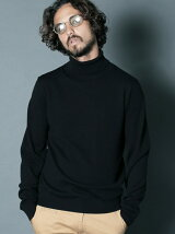 MERINO WOOL TURTLE NECK KNIT