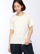 セットイン×ラグランダメージTシャツ