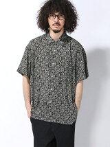 【BROWNY】(M)ドロップショルダーレーヨンシャツ