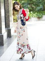 MIXロングワンピース[DRESS/ドレス]