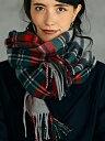 【SALE/50%OFF】D カシミヤチェック ストール ユナイテッドアローズ グリーンレーベルリラクシング ファッショングッ…