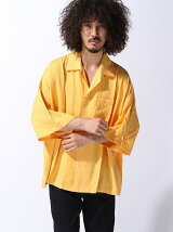 LUGG NAGG/(U)オープンカラードロップショルダービッグシルエットシャツ