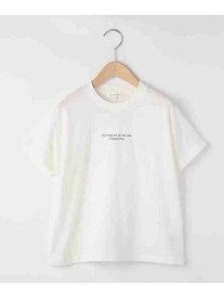 3can4on 【日本財団チャリティー】#staypositive リサイクルコットンTシャツ(親子企画) サンカンシオン カットソー Tシャツ ホワイト グリーン