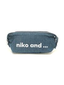 niko and... OR ニコロゴポーチM ニコアンド バッグ