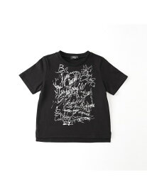 COMME CA ISM グラフィカルプリントTシャツ コムサイズム カットソー