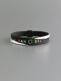 BANDEL (U)クロスブレスレット バンデル アクセサリー ブレスレット ブラック ネイビー レッド ホワイト【送料無料】