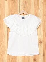 胸フリル半袖Tシャツ/キッズ/夏