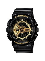 G-SHOCK/(M)GA-110GB-1AJF/Black×Gold