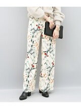flower printed pants