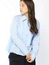 バックラッフルシャツ