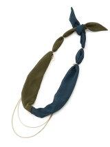 EL33 2連スカーフネックレス
