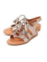 (W)GLADDIE LACE-UP LEATHER SANDAL