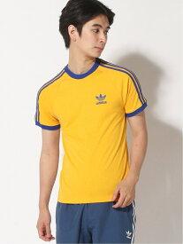 adidas Originals (U)3 STRIPES TEE アディダス カットソー Tシャツ イエロー ブラック ブルー ホワイト レッド【送料無料】