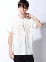 【BROWNY】(M)チェッカーロゴモチーフTシャツ