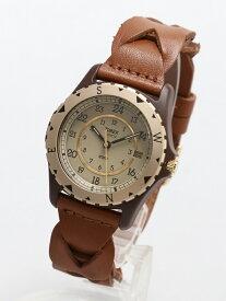 TIMEX TIMEX/(U)サファリ ライフスタイルステーション ファッショングッズ 腕時計 ブラウン【送料無料】