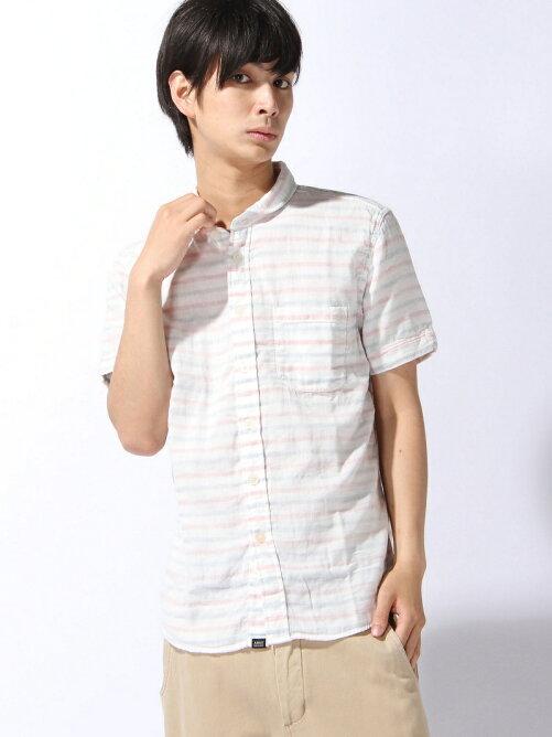 (M)吸水速乾 ダブルガーゼショートスリーブシャツ