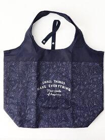 Afternoon Tea コンパクト保冷バッグL アフタヌーンティー・リビング 生活雑貨 キッチン/ダイニング ネイビー ブルー