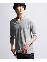 ◆inner light v neck 3/4 sleeve