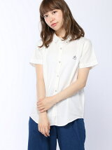 (L)HOUSEシシュウコットンシャツ