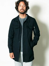 HIGH COUNT OX MILITARY LONG SHIRTS COAT