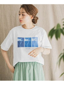 【SALE/20%OFF】Sonny Label MAGIC NUMBER SpecialOrder T-SHIRTS / Building サニーレーベル カットソー Tシャツ ホワイト【送料無料】